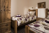 Otter Cottage 2nd Bedroom - Barmston Farm Holiday Park