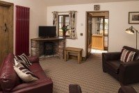 Otter Cottage Living Room - Barmston Farm Holiday Park